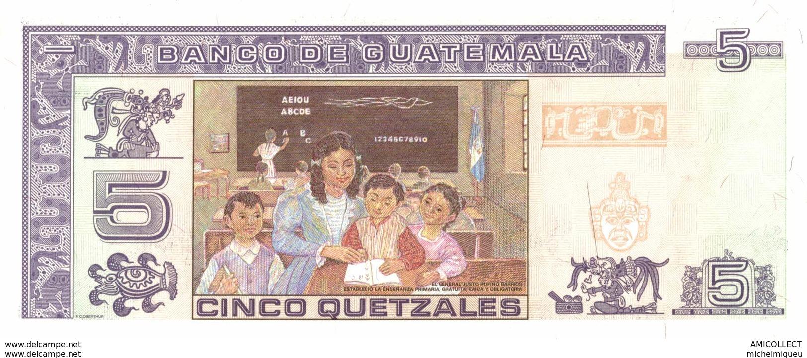 7315-2019    BILLET ETRANGER DE GUATEMALA - Guatemala
