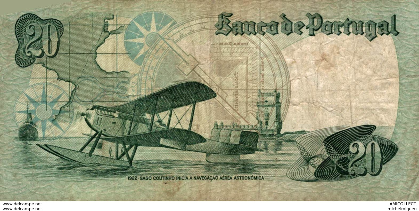 7493-2019    BILLET  DE BANQUE  PORTUGAL - Portugal