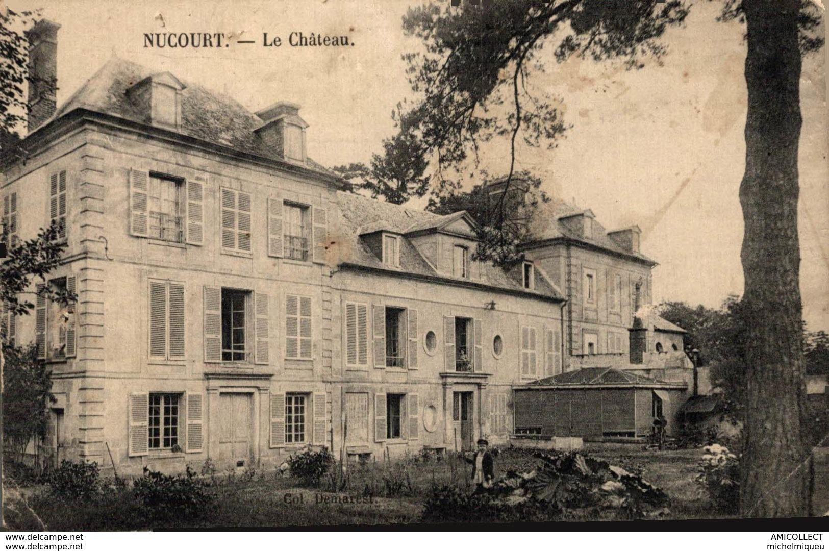 2757-2019     NUCOURT   LE CHATEAU - Altri Comuni