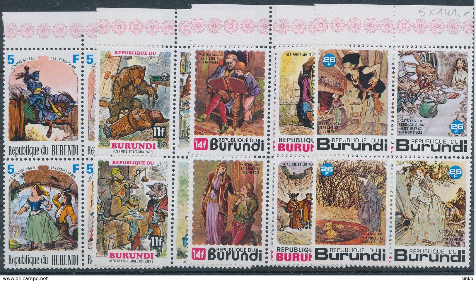1977. Burundi - Tales - Fairy Tales, Popular Stories & Legends