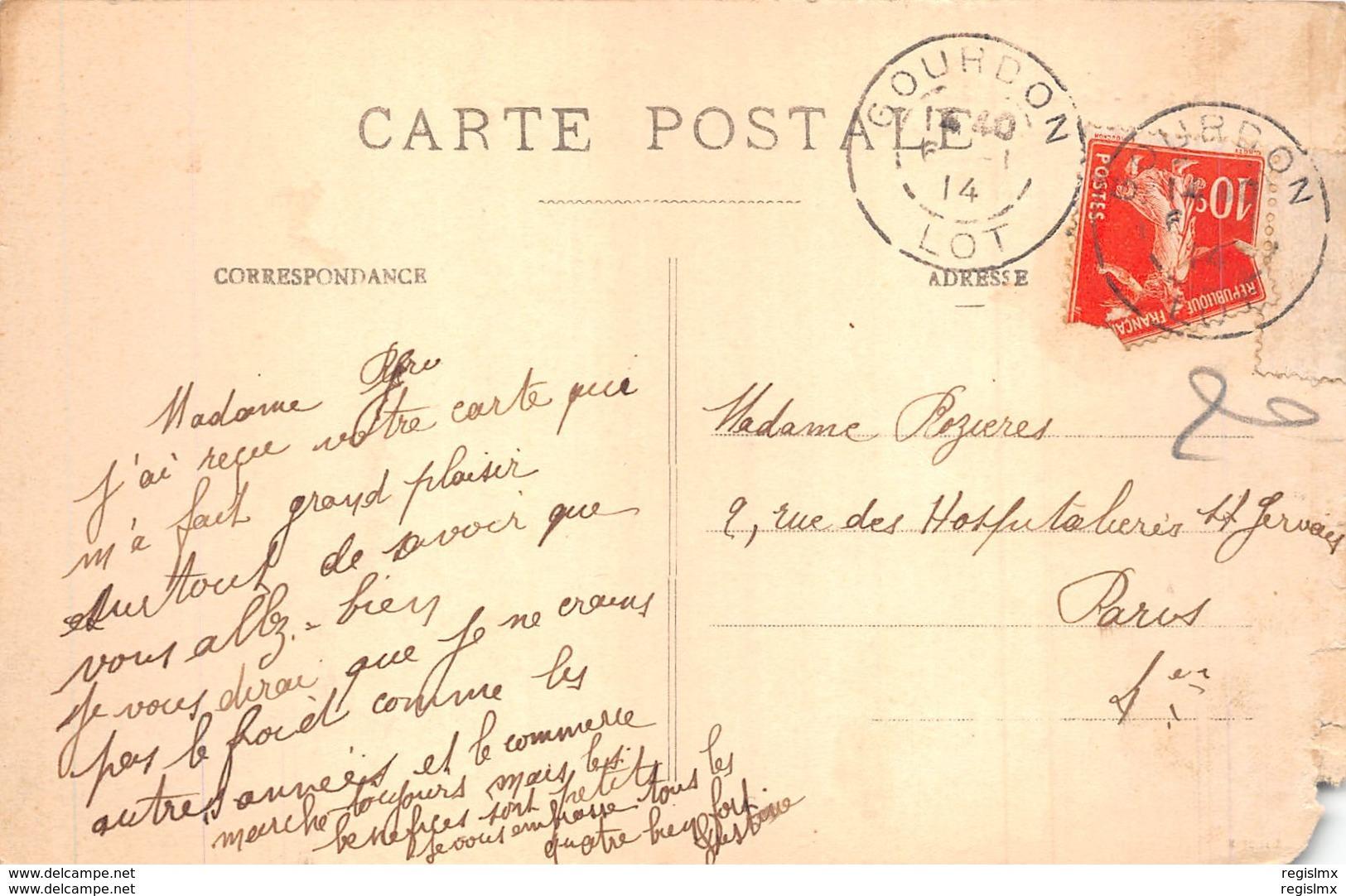 24-CHATEAU DE MILHAC-N°2219-E/0027 - Frankreich