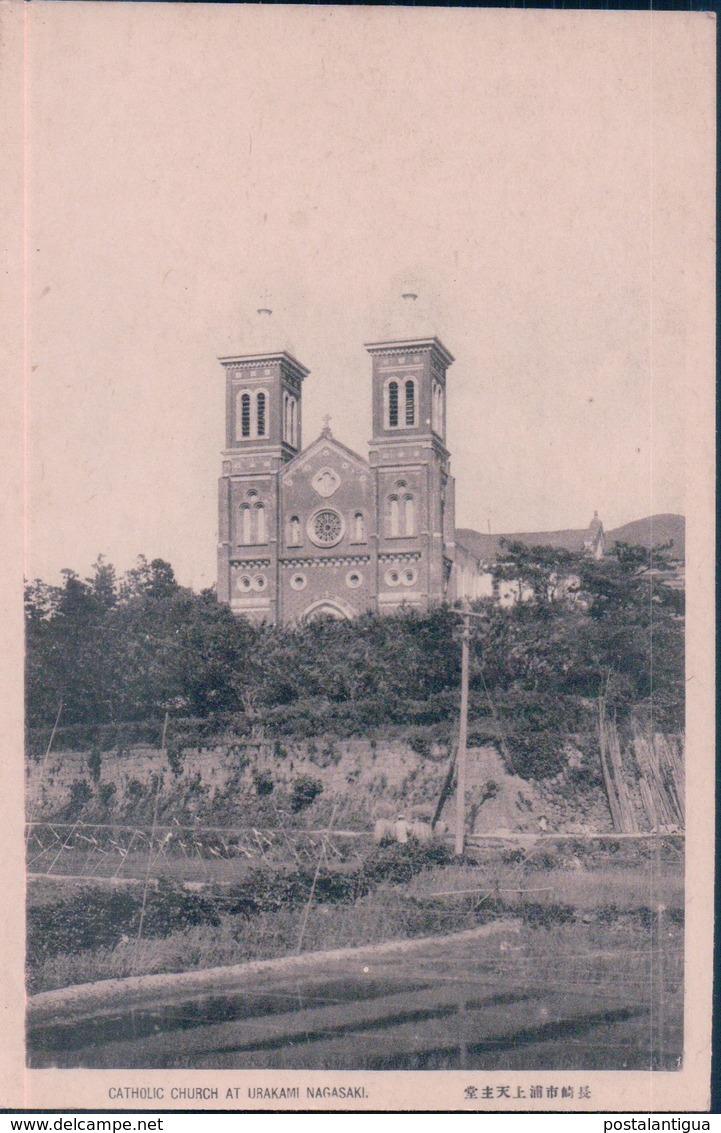POSTAL JAPON - CATHOLIC CHURCH AT URAKAMI NAGASAKI - Japón