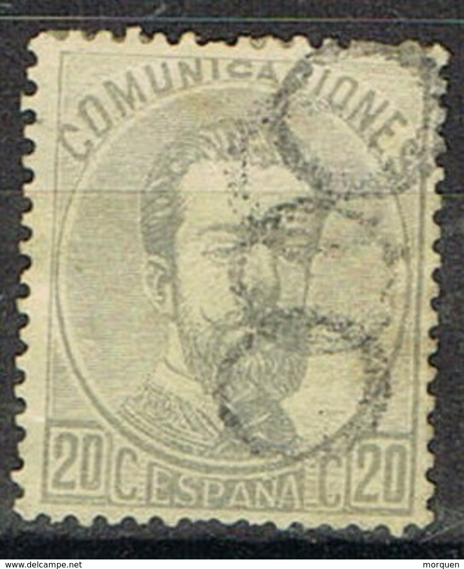 Sello 20 Centimos AMADEO, Matasellos Prefilatelico CEROS, Num 123 º - 1872-73 Reino: Amadeo I