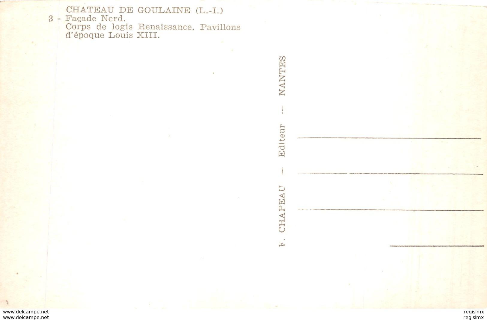 44-HAUTE GOULAINE LE CHATEAU-N°2236-D/0357 - Francia