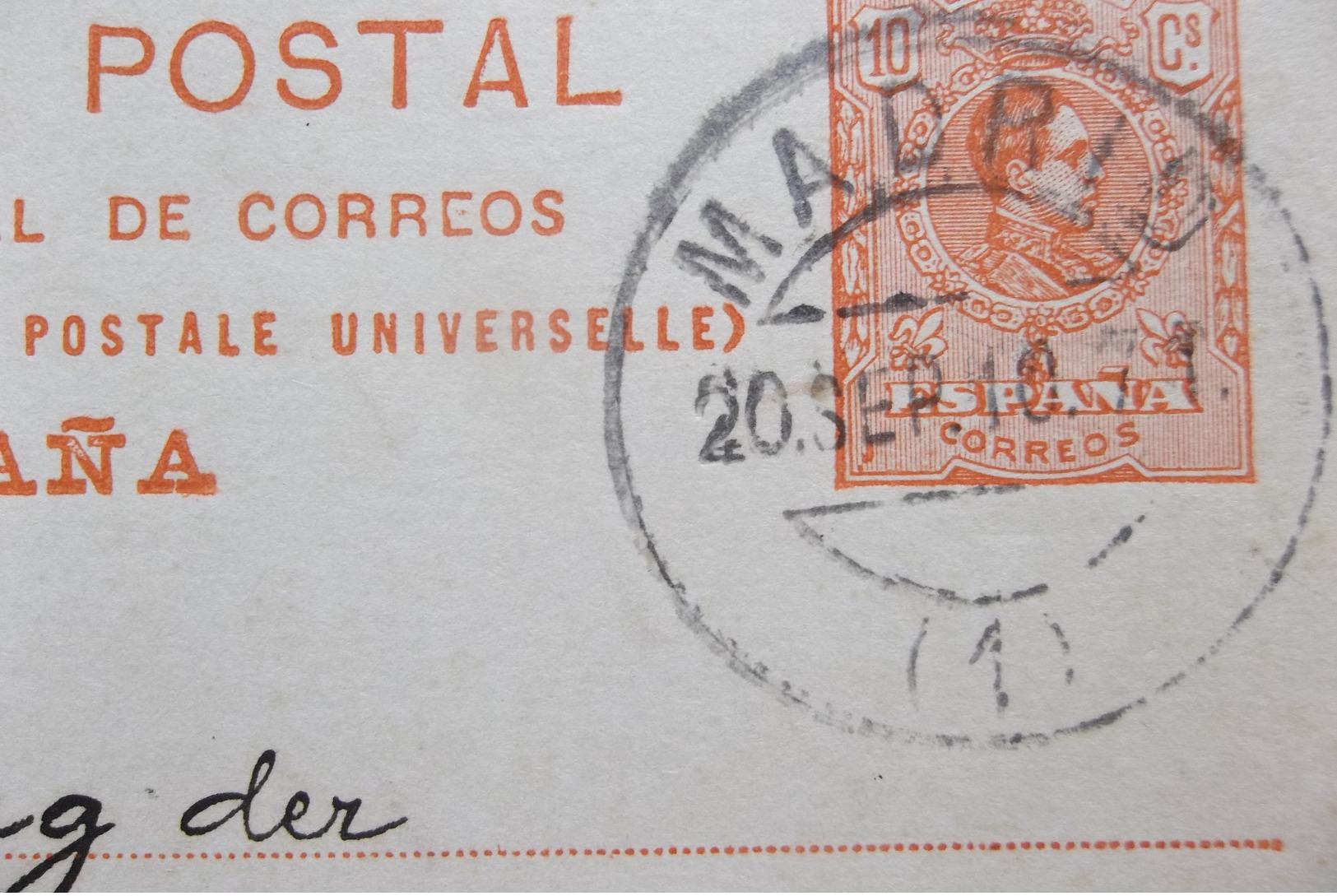 Espana: 1910 Postal Card To Berlin (#KS8) - Stamped Stationery
