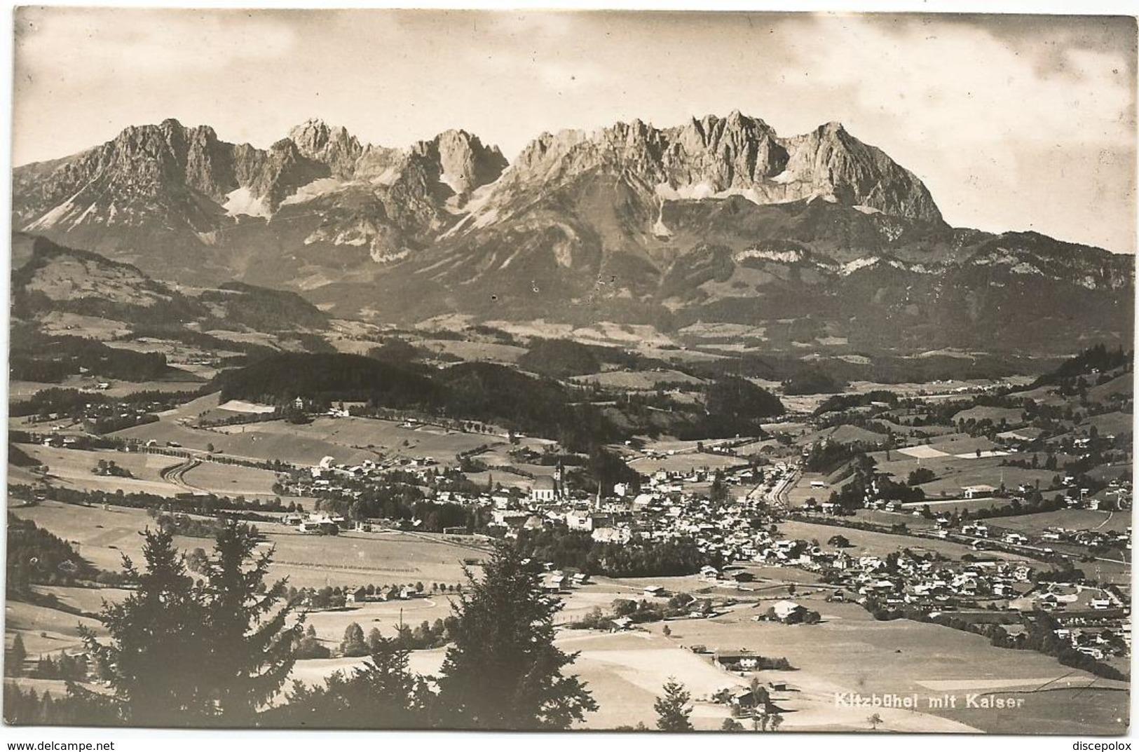 W4361 Kitzbuhel Mit Kalser / Viaggiata - Kitzbühel