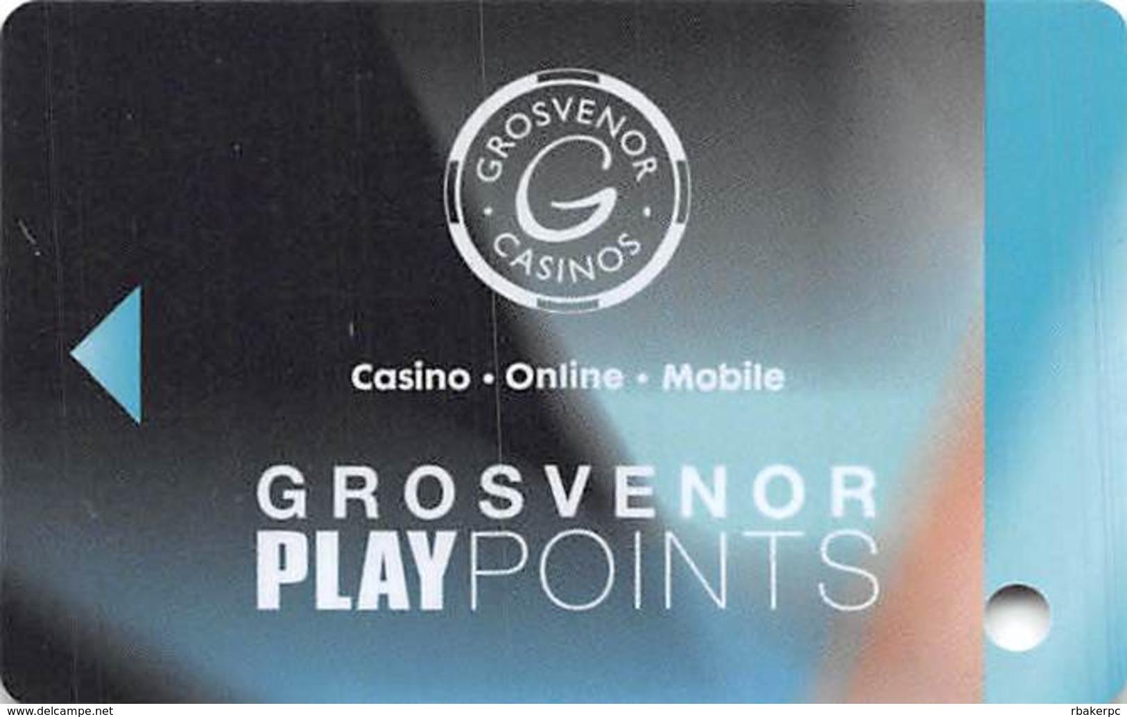 Grosvenor Casinos United Kingdom Play Points Casino Slot Card  .....[FSC]..... - Casino Cards