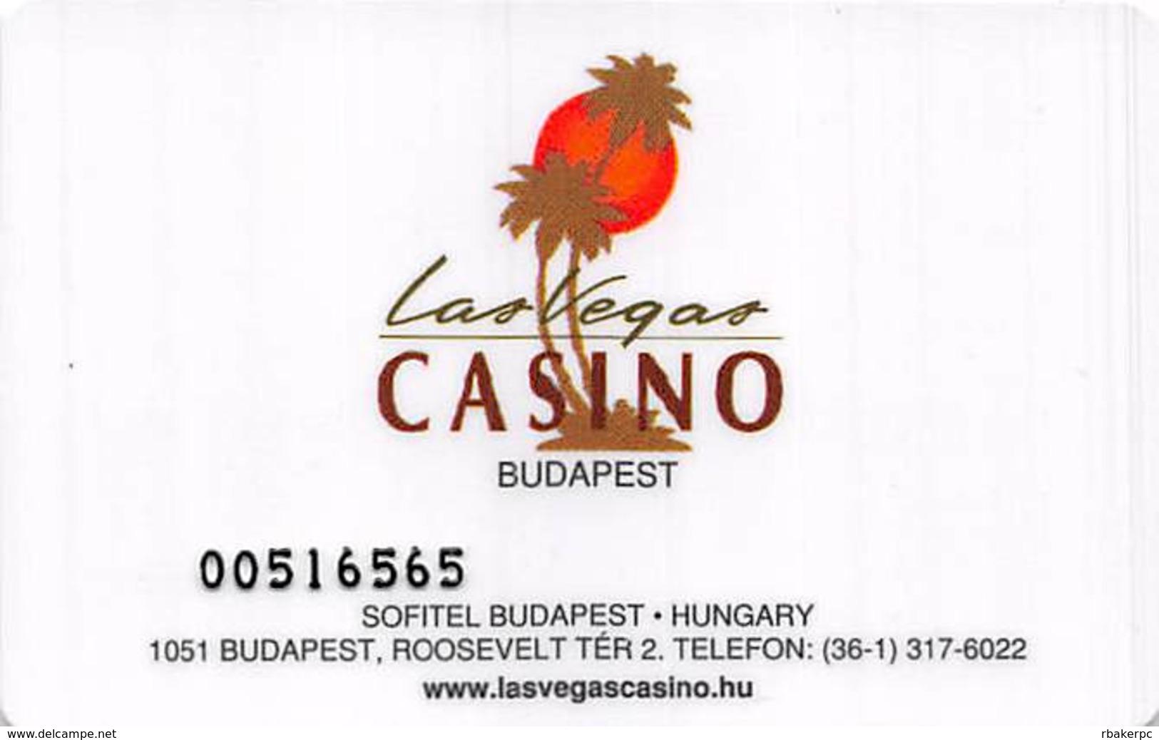 Las Vegas Casino Budapest Hungary Entry Card  .....[FSC]..... - Casino Cards