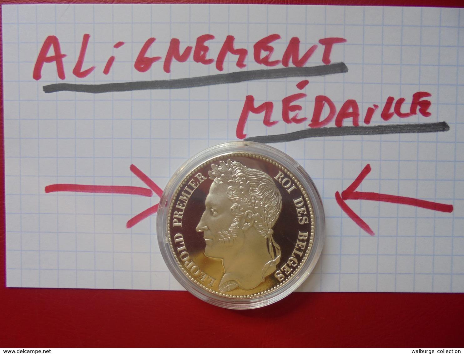 Léopold 1er. 5 FRANCS 1832 ARGENT-FRAPPE MEDAILLE-REFRAPPE MONNAIE ROYALE ! - 11. 5 Francs