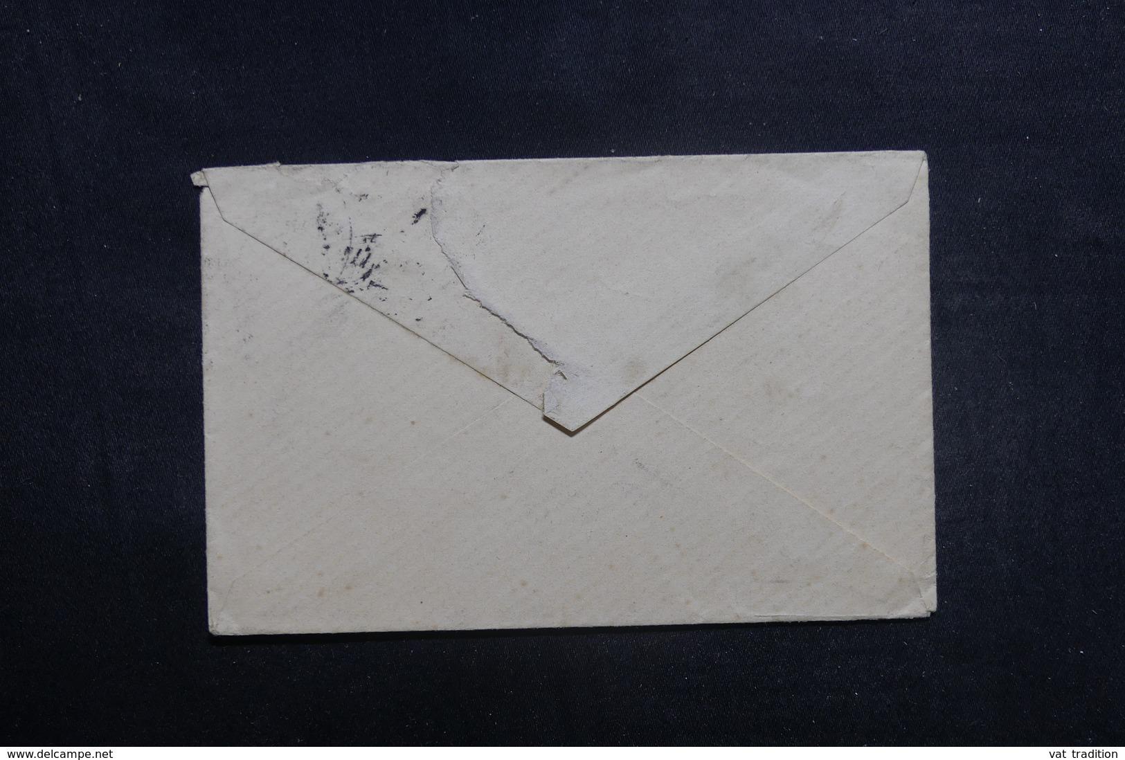 ALLEMAGNE - Petite Enveloppe De Hagendingen Pour La France En 1892, Affranchissement Plaisant - L 40961 - Brieven En Documenten