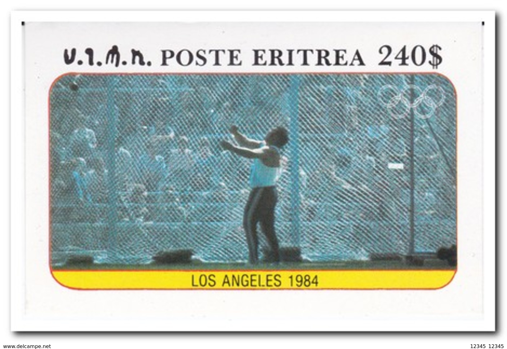 Eritrea 1984, Postfris MNH, Olympic Games - Eritrea