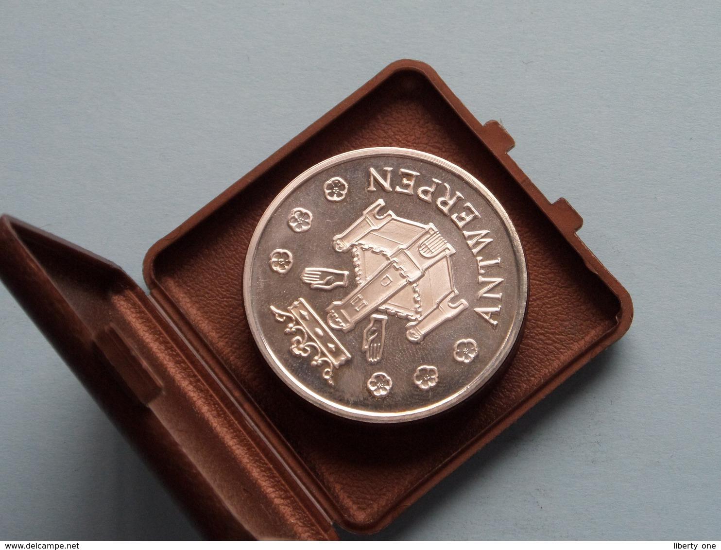 RUBENSJAAR 1977 - ANTWERPEN ( 25 GRAM > Silver ) In DOOSJE  > 1 Stuk ( Uncleaned - For Grade, Please See Photo ) ! - België