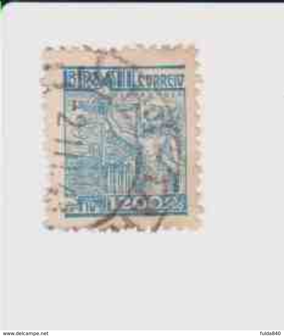 BRESIL.(Y&T) . 1941-48 - N°393   *Sidérurgie*    1200r.   Obli° - Oblitérés