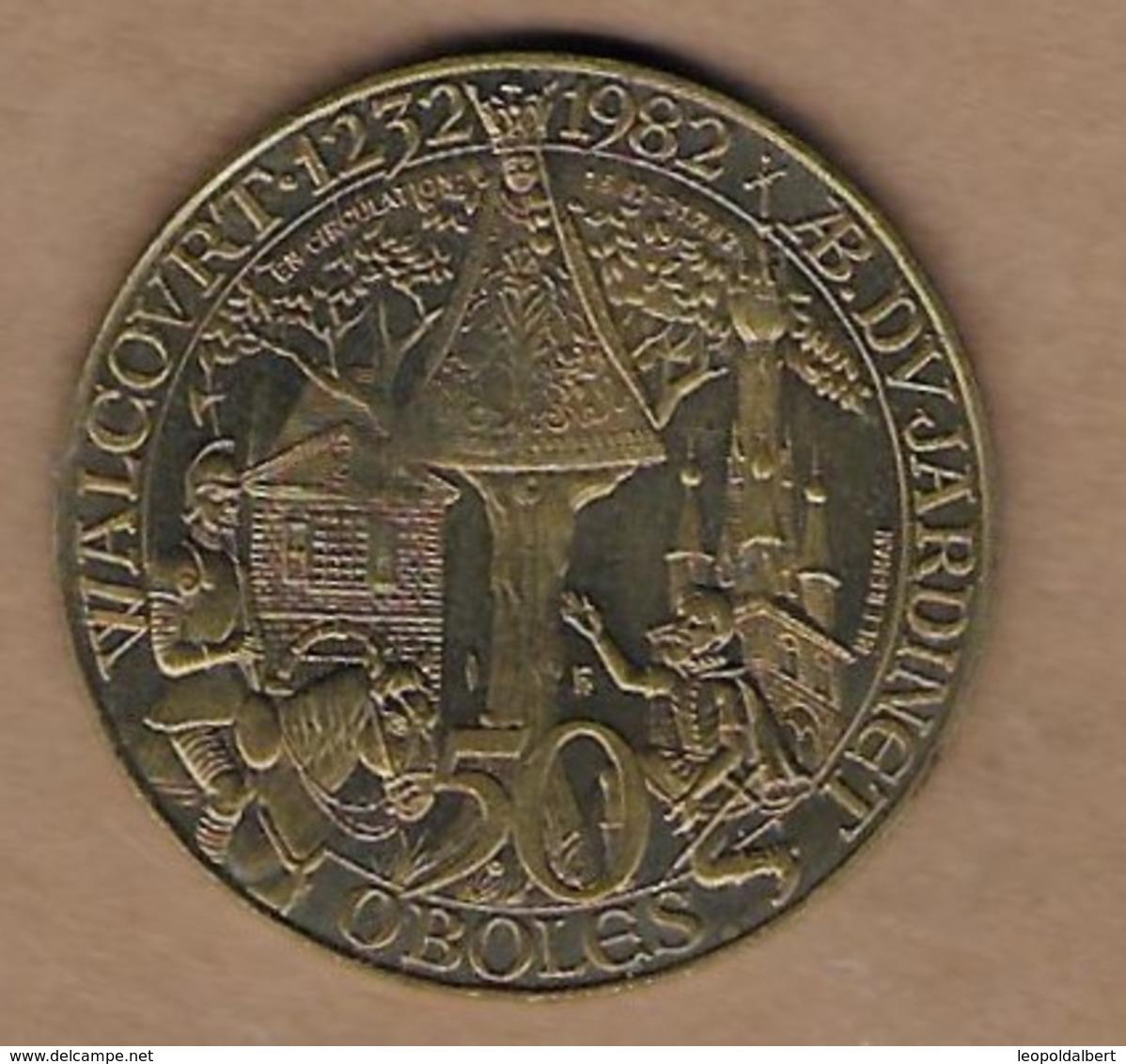 50 OBOLES 1982 WALCOURT - Gemeentepenningen