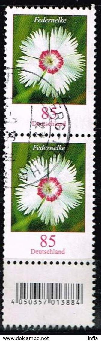Bund 2017, Michel# 3116 R O Blumen. Federlilie Neuauflage Mit EAN Code Und Nr. 40 - Roller Precancels