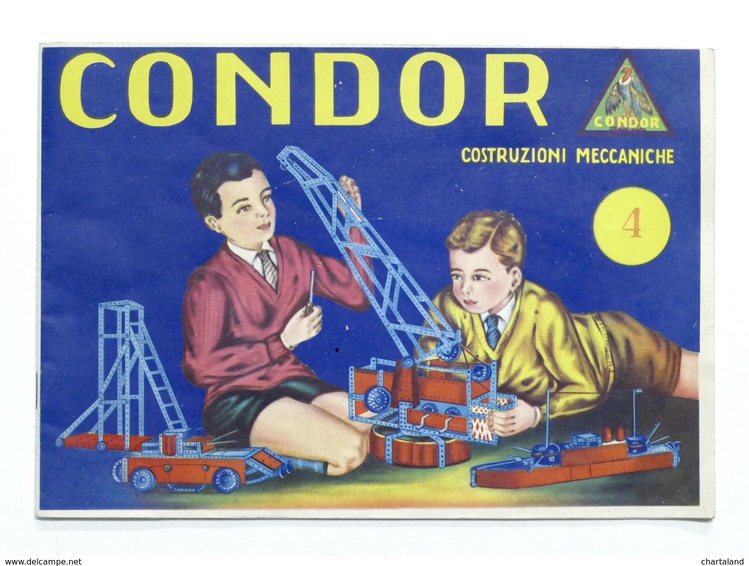 Modellismo - Catalogo Condor - Costruzioni Meccaniche - Scatola N. 4 - Libros, Revistas, Cómics
