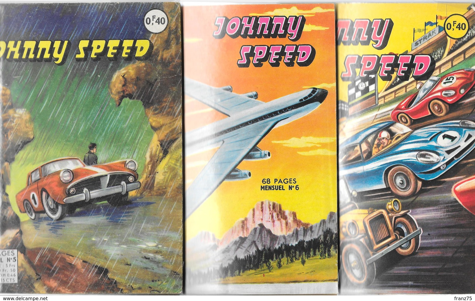 """""""Johnny SPEED"""" N°s 5-6-14--1964/65--éditions Artima-TBE - Wholesale, Bulk Lots"""
