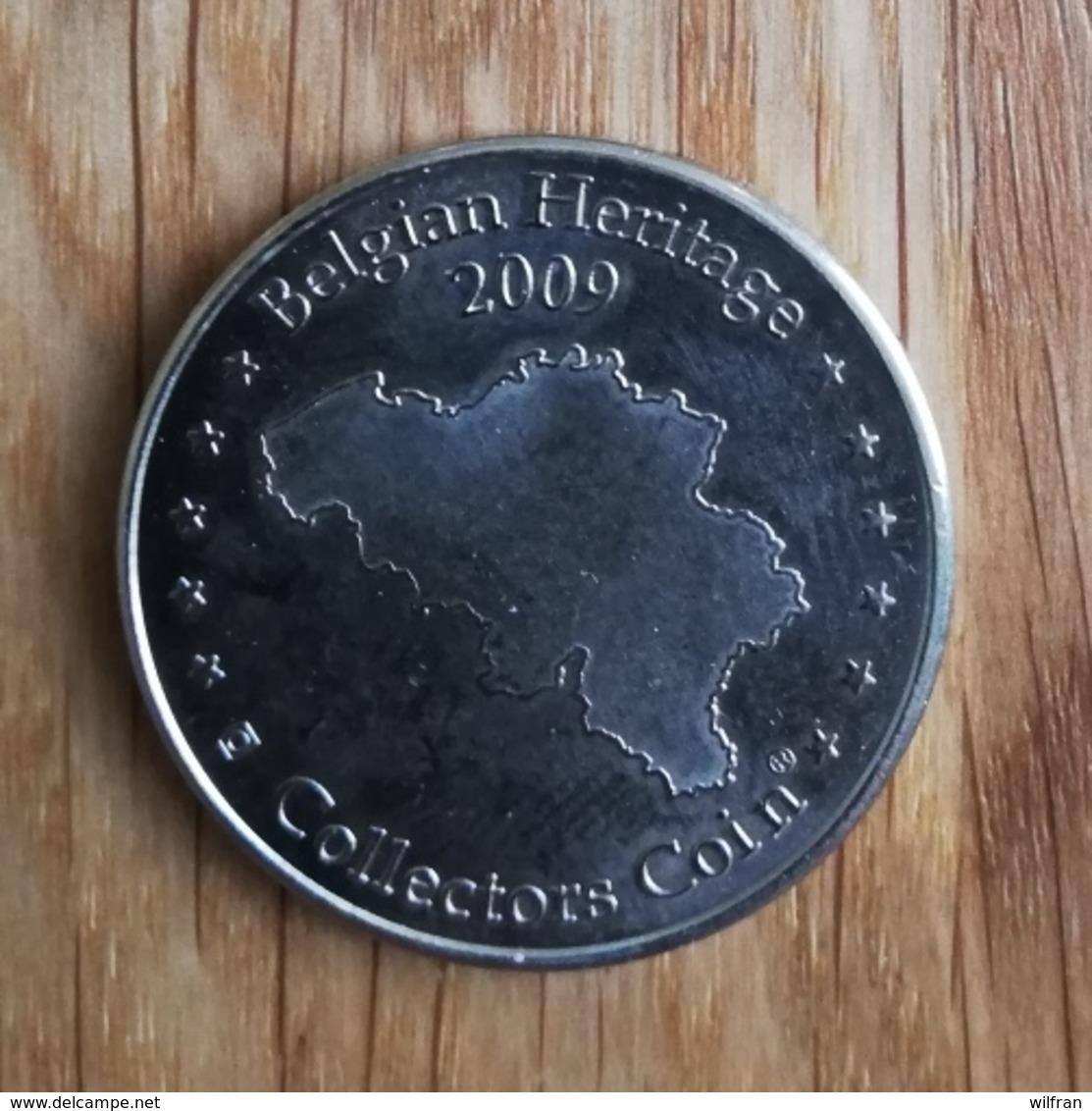 3260 Vz Les Cascades De Coo - Kz Belgian Heritage Collectors Coin - Andere
