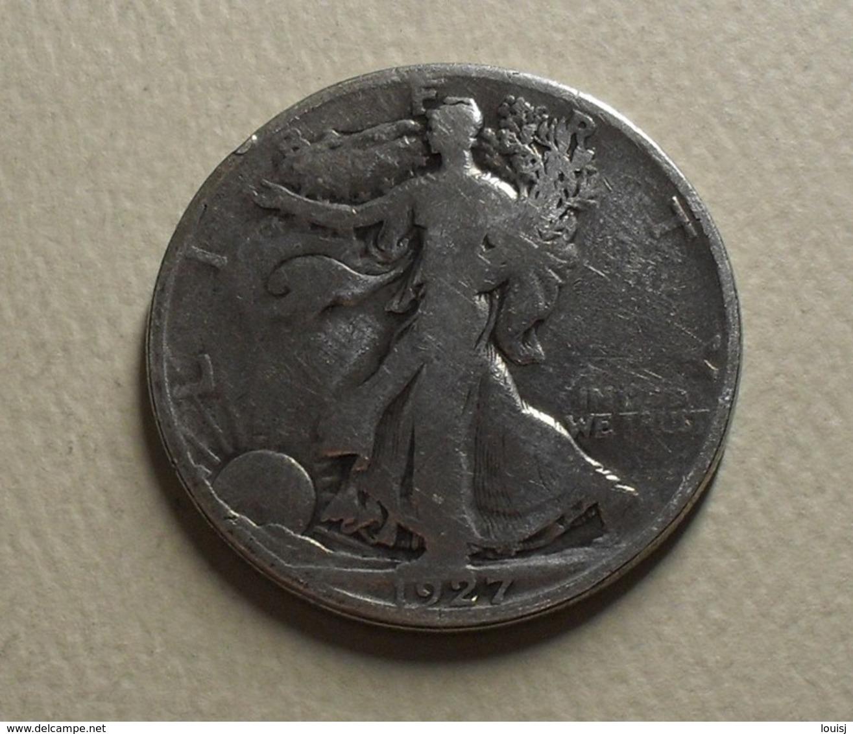 1927 - Etats Unis - USA - HALF DOLLAR, Walking Liberty, Argent, Silver, KM 142 - Bondsuitgaven