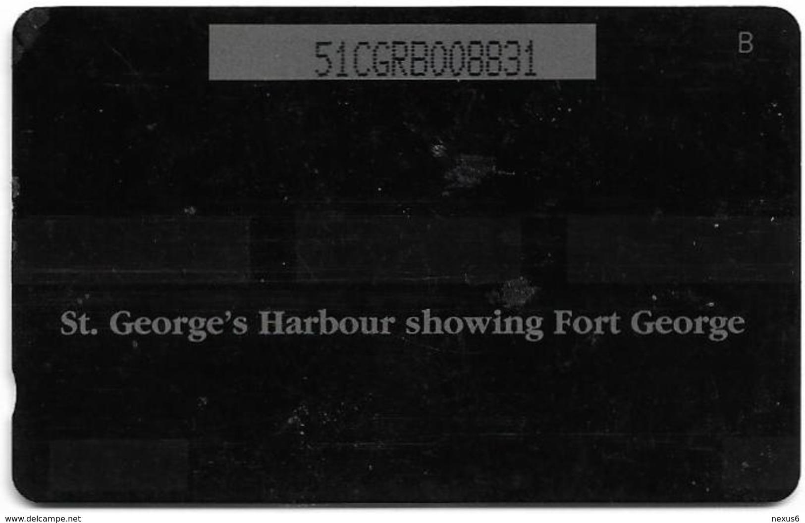 Grenada - C&W (GPT) - Fort George, 51CGRB, 1996, 16.000ex, Used - Grenada