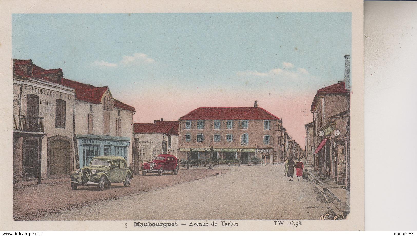 MAUBOURGUET      AVENUE DE TARBES - Maubourguet