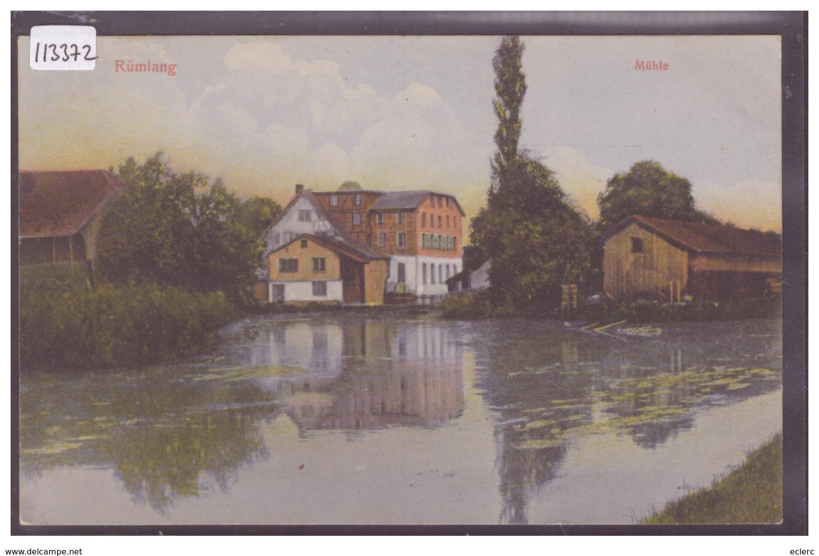 RÜMLANG - MÜHLE - TB - ZH Zurich