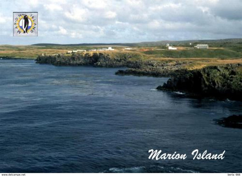 Marion Island View New Postcard Marioninseln Südafrika AK - Südafrika