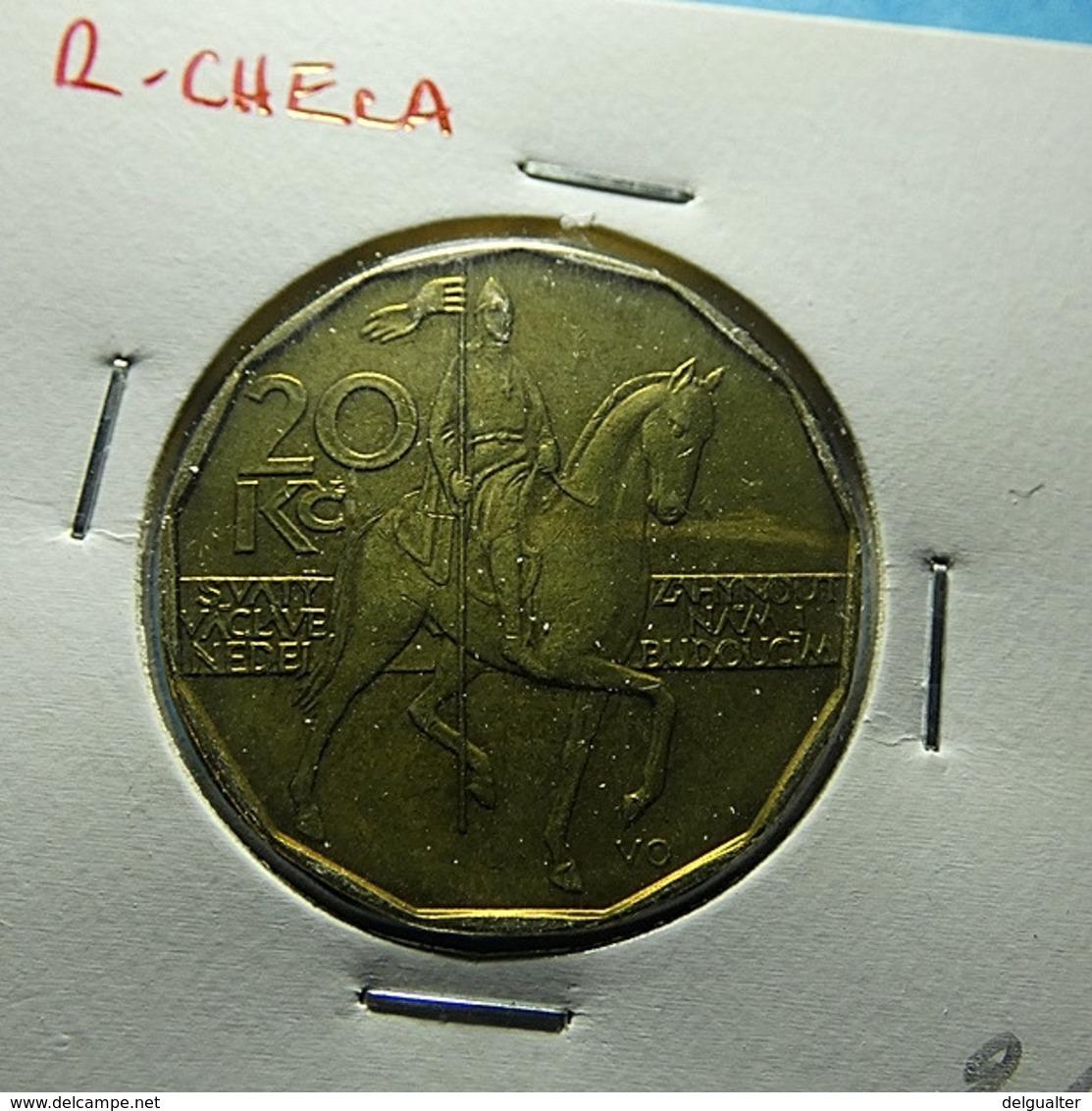 Czech Republic 20 Korun 1993 - Repubblica Ceca