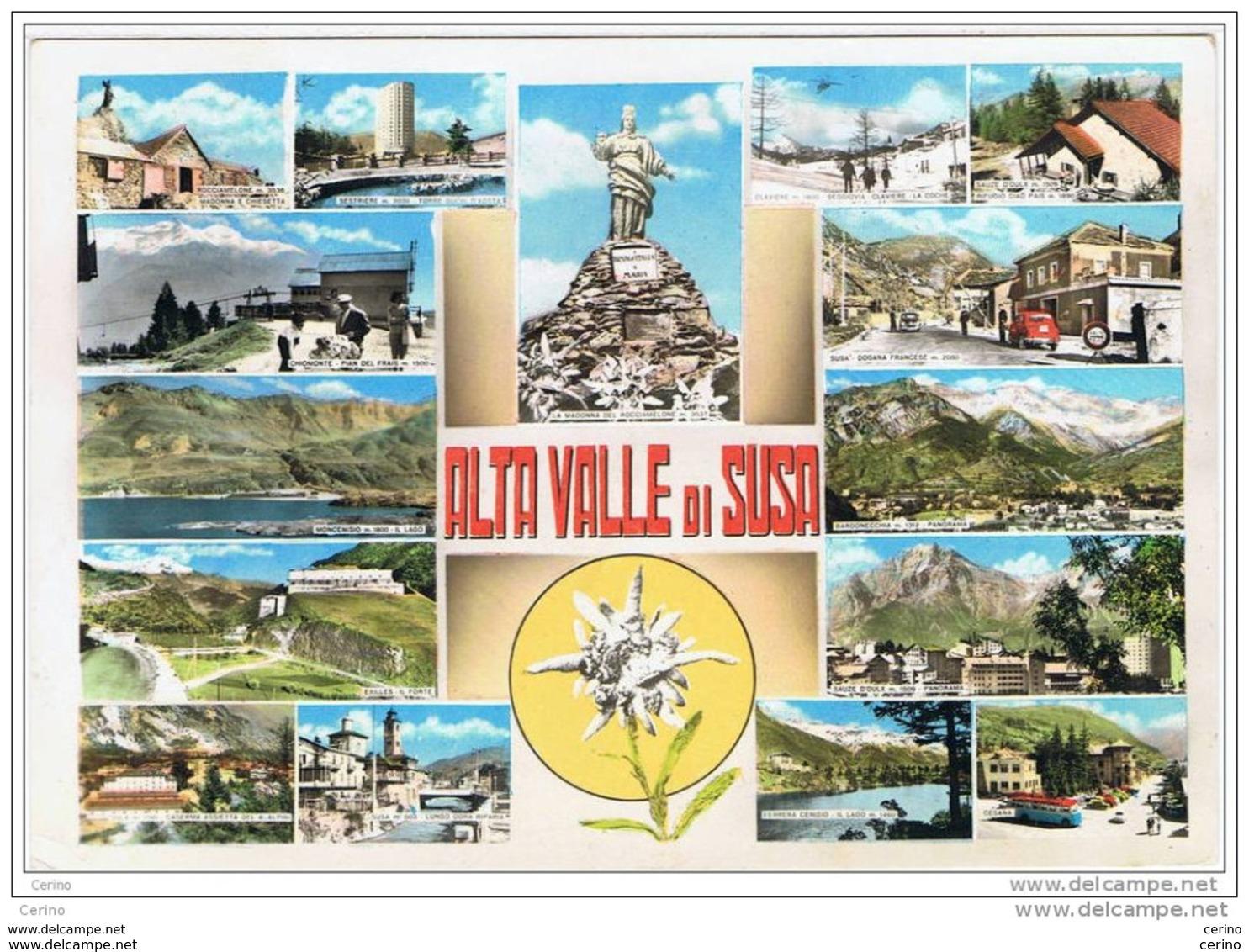 ALTA  VALLE  DI  SUSA (TO):  VEDUTINE  -  FOTO  BROMOCOLOR  -  FG - Italia