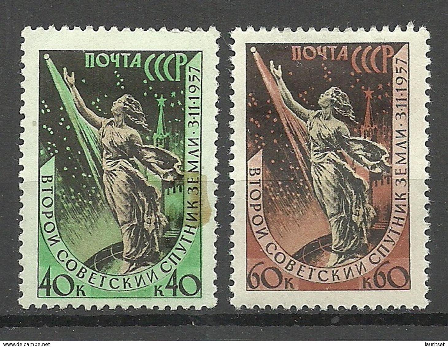 RUSSLAND RUSSIA 1957 Michel 2043 - 2044 * - 1923-1991 USSR