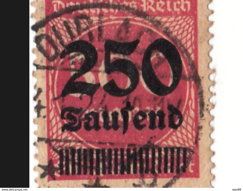 Expédition Gratuite.COLLECTION : ANCIEN TIMBRE : ALLEMAGNE.---250---SURCHARGE . - Duitsland