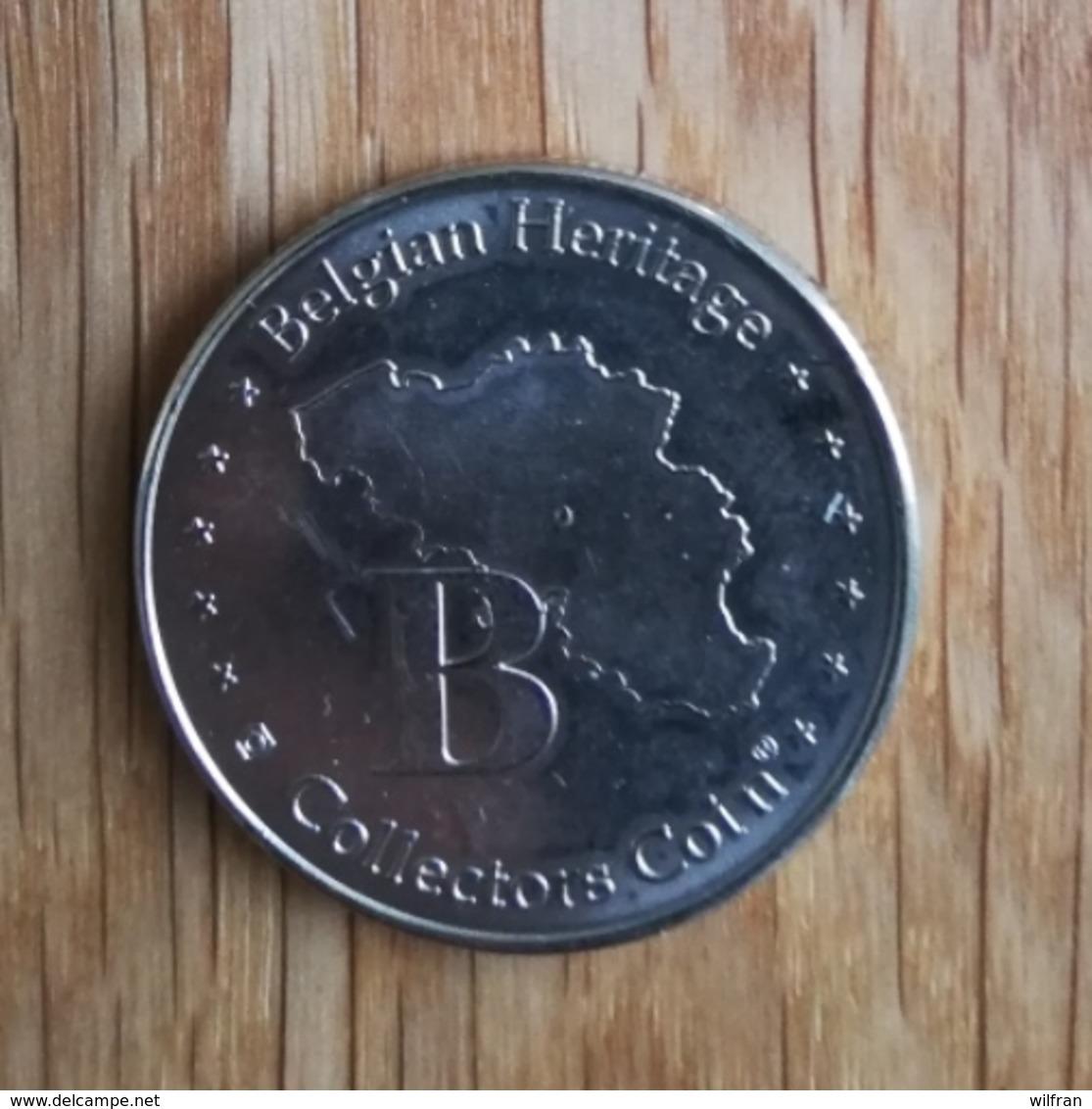 3266 Vz Stadhuis Musea Brugge - Kz Belgian Heritage Collectors Coin - Altri