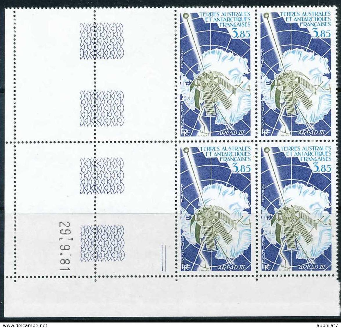 NN - [95378]SUP//**/Mnh-NN-PA69, Espace, ARCAD III, En Bloc De 4 Coin Daté - Poste Aérienne