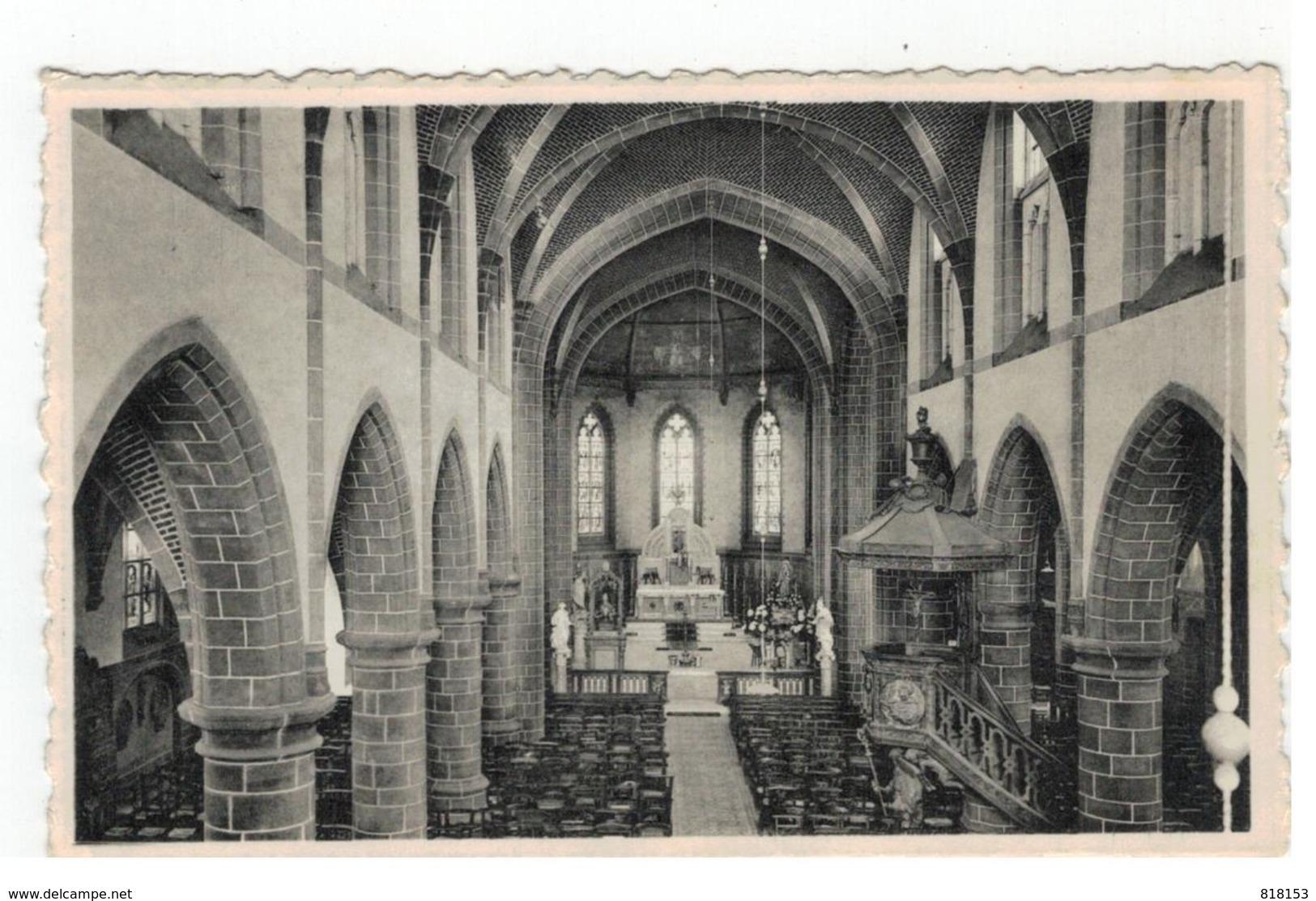 10. Herselt  Binnenzicht Der Kerk - Herselt