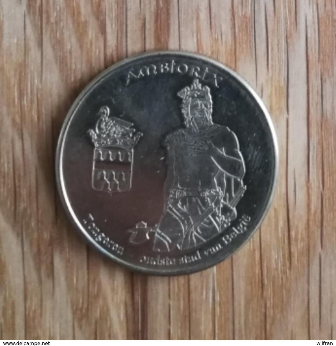 3273 Vz Ambiorix Tongeren Oudste Stad Van België - Kz Belgian Heritage Collectors Coin - Belgio
