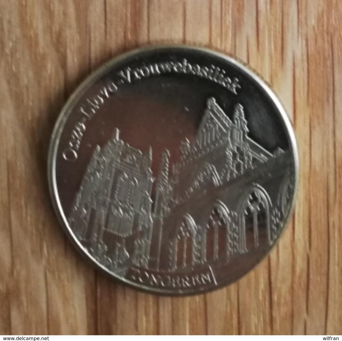 3274 Vz Onze-Lieve-Vrouwebasiliek Tongeren - Kz Belgian Heritage Collectors Coin - Andere