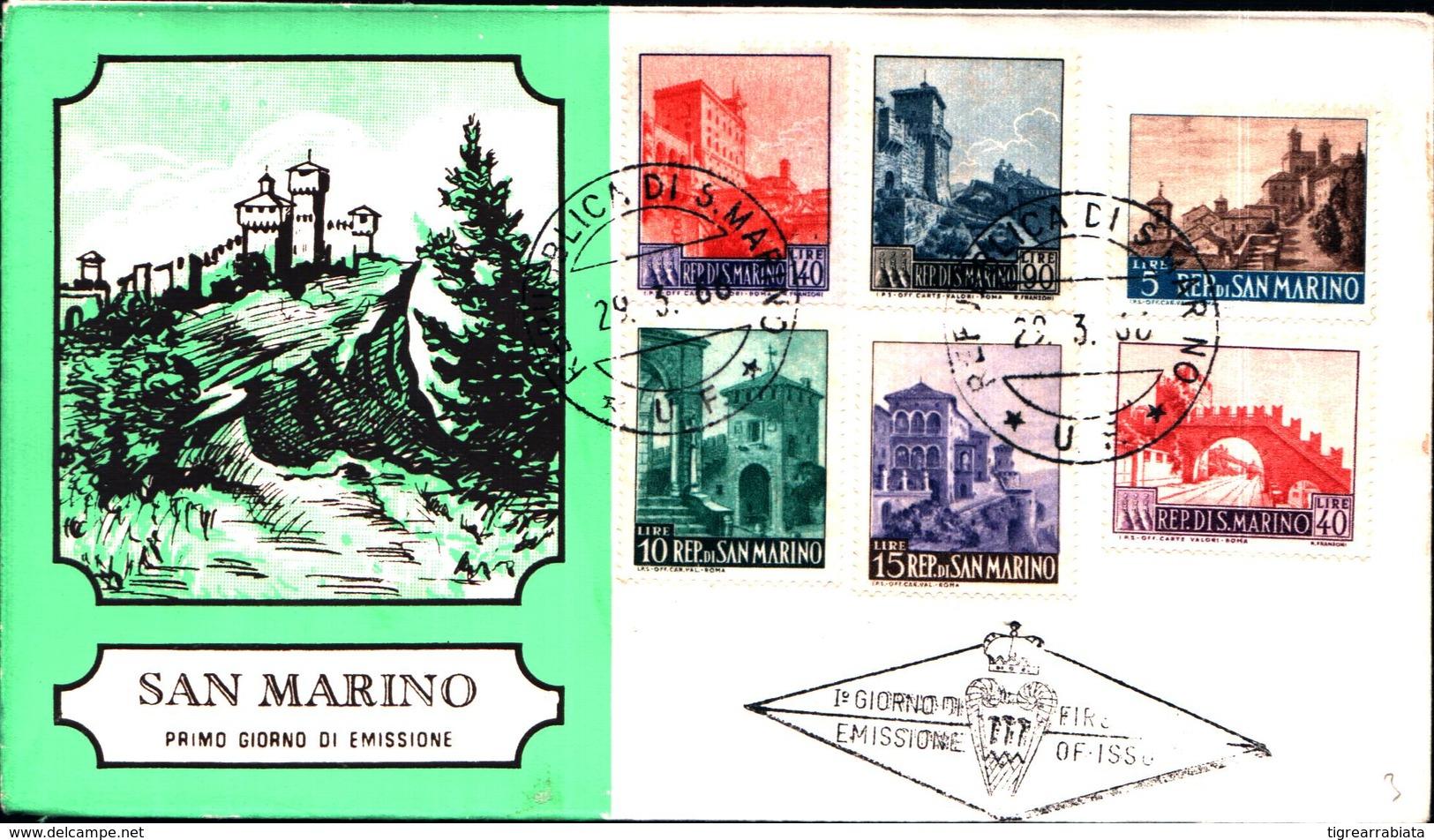 13240a)F.D.C.SAN Marino    Veduta Di San Marino - 29 Marzo 1966 - FDC