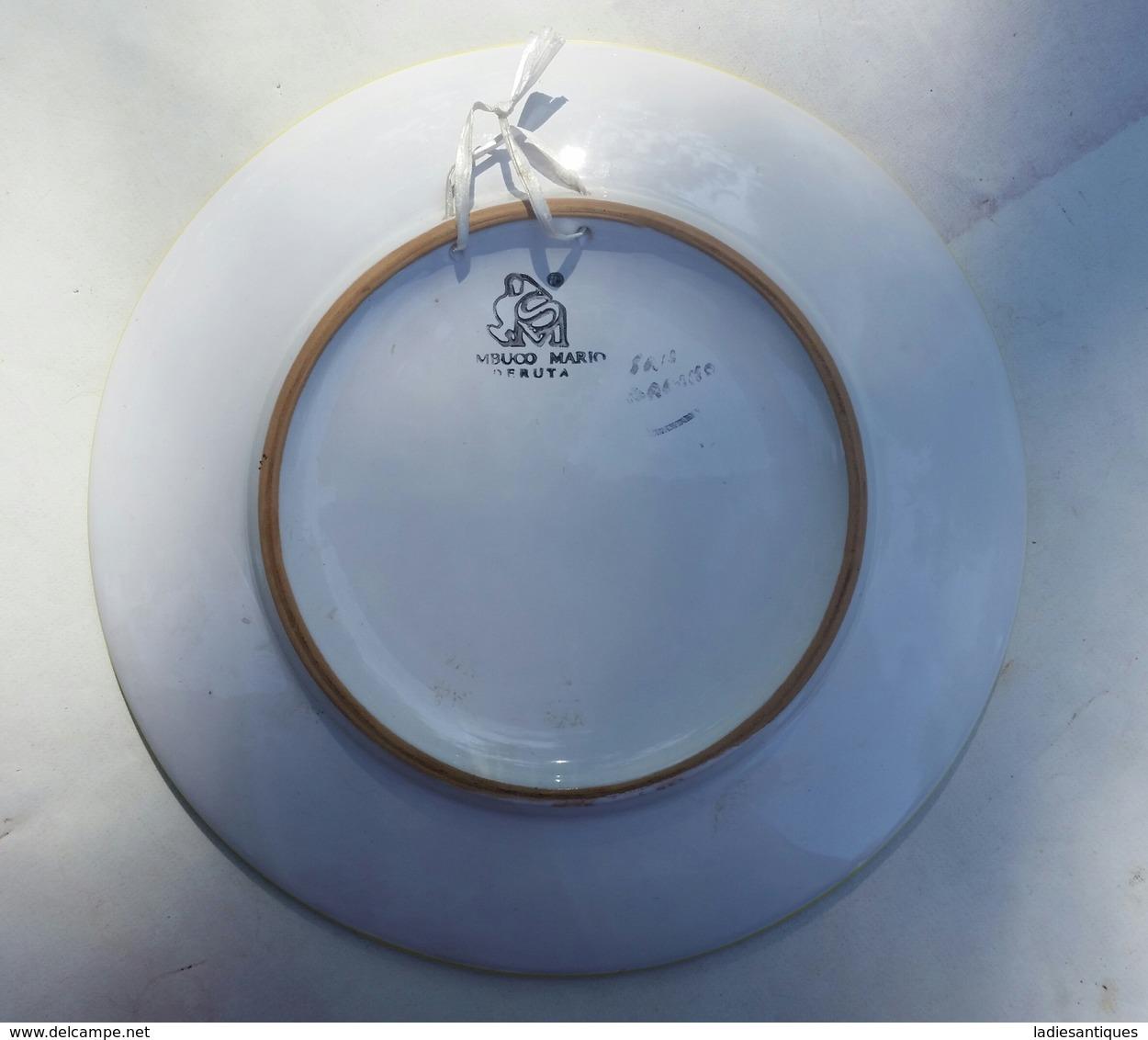 Deruta Wall Plate - Sierbord - Assiette à Suspense As 2189 - Deruta (ITA)