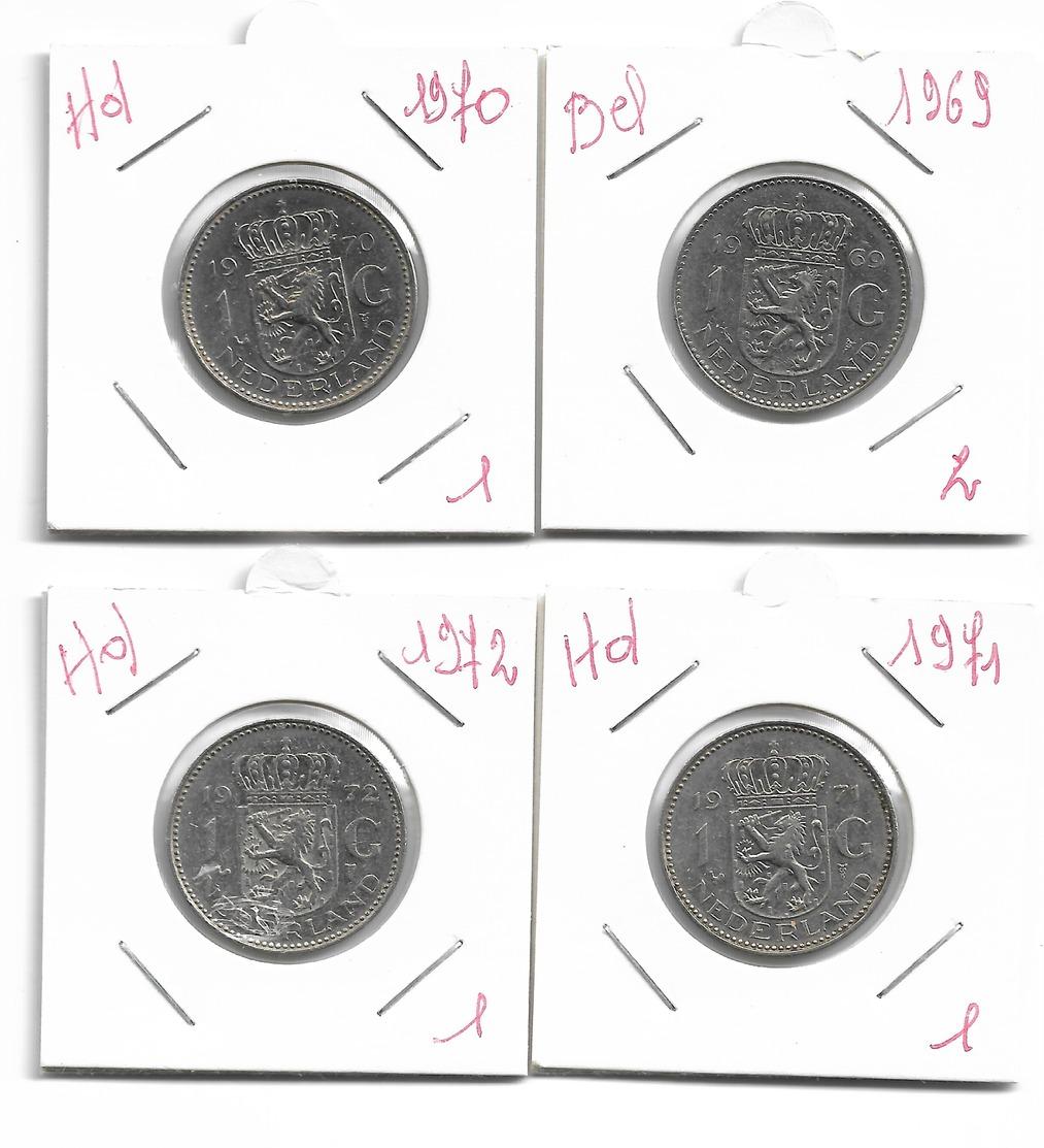 Pays-Bas 4 X 1 Cent - Luxemburgo