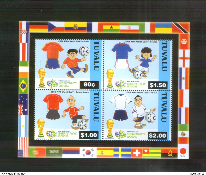 Tuvalu Block ** Fußball WM (2006) - 2006 – Deutschland