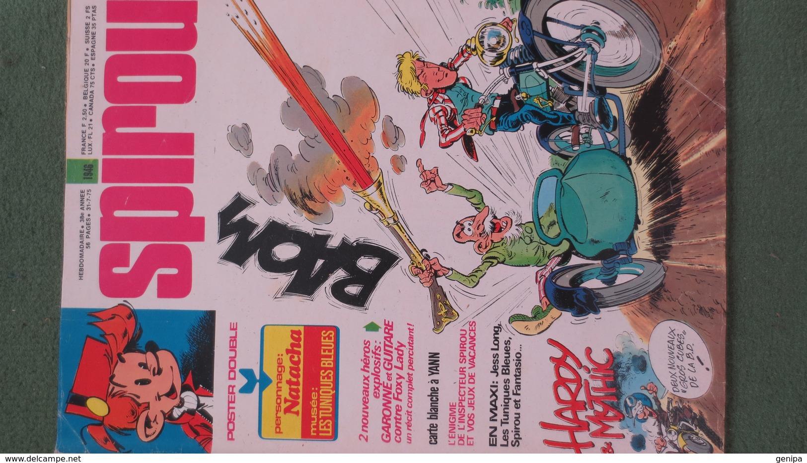 Magazine SPIROU N° 1946. Année 1975 - Spirou Magazine