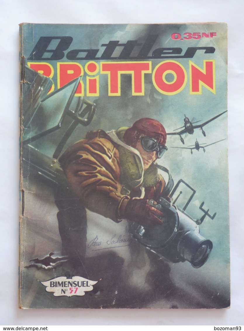 BATTLER BRITTON  N° 57   IMPERIA - Books, Magazines, Comics