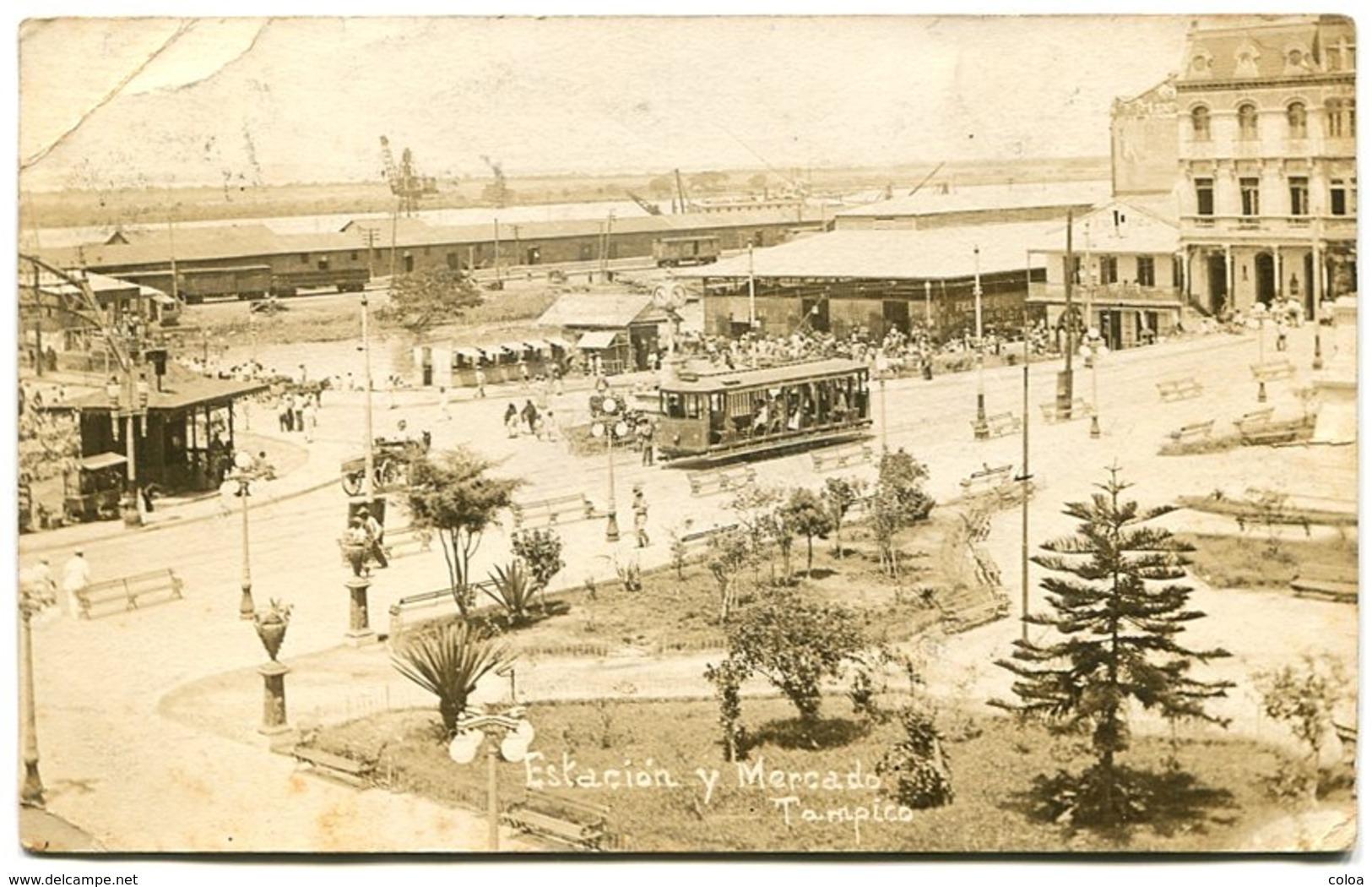TAMPICO Estacion Y Mercado Tramway - Mexiko