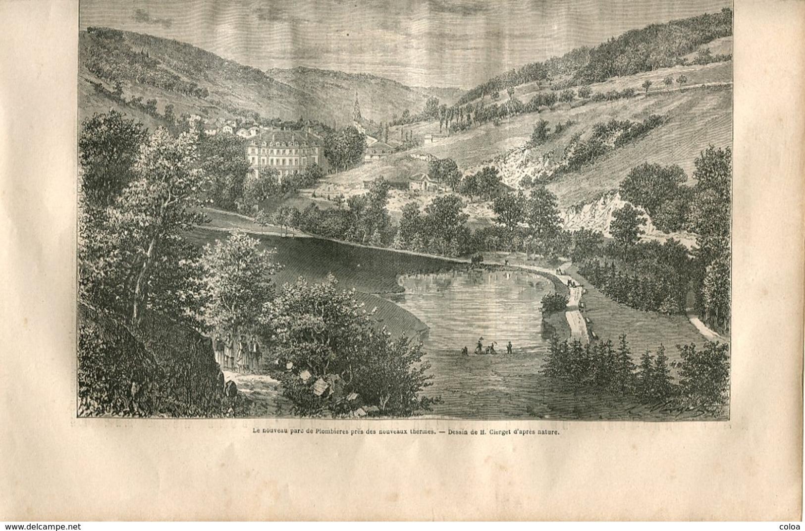 Plombières Et Ses Environs 1867 - Boeken, Tijdschriften, Stripverhalen