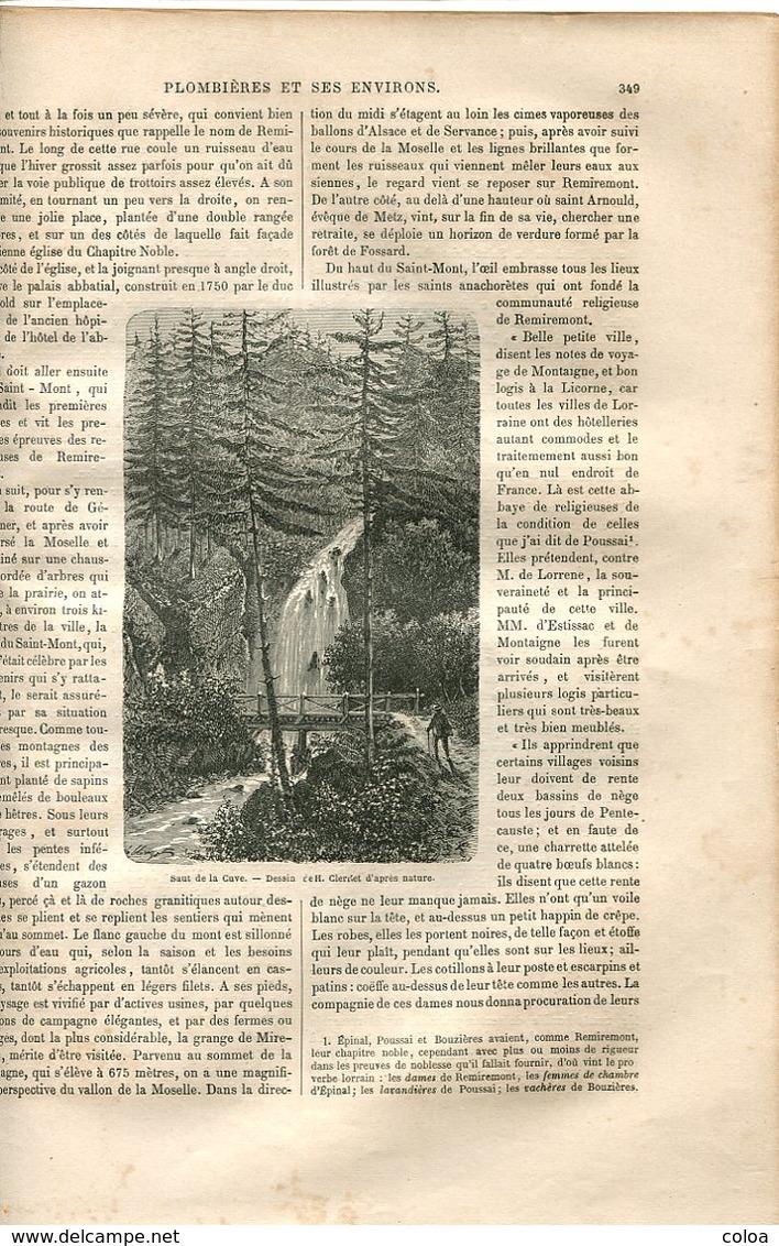 Plombières Et Ses Environs 1867 - Books, Magazines, Comics