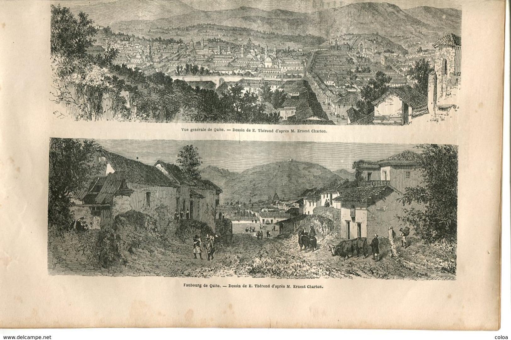 Quito République De L'Equateur 1867 - Books, Magazines, Comics