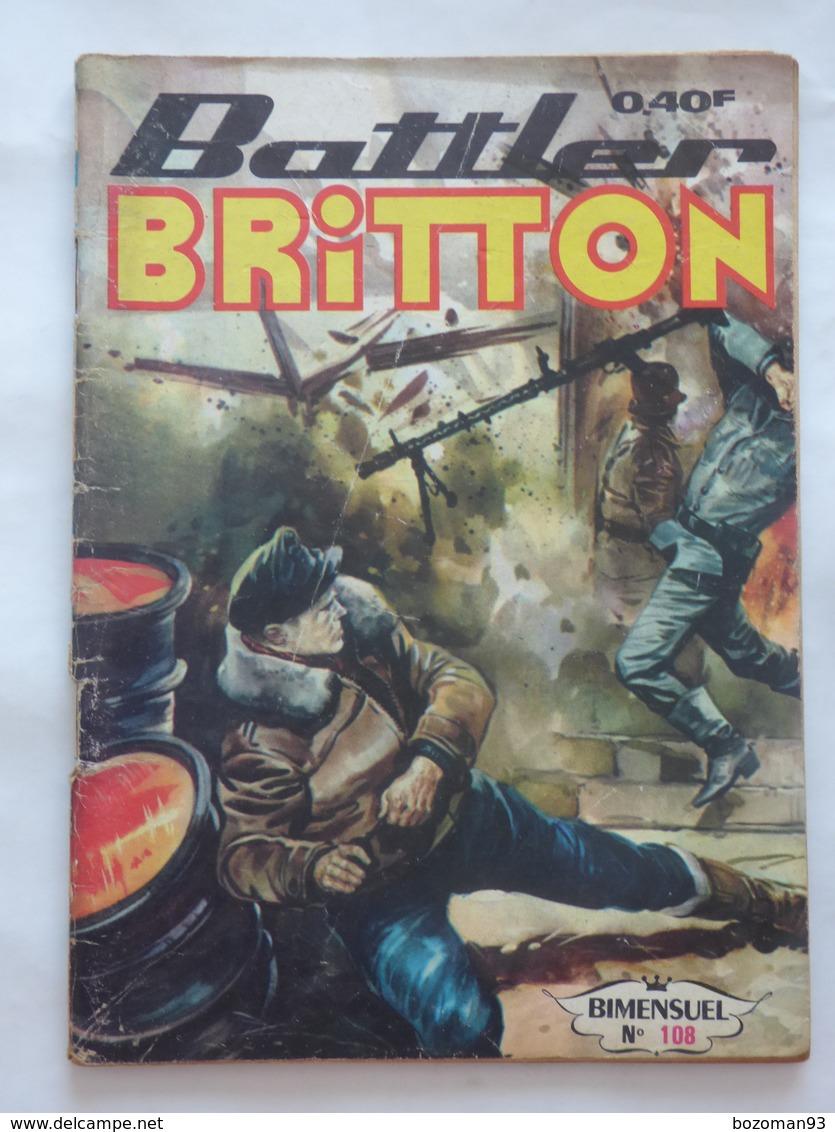 BATTLER BRITTON  N° 108   IMPERIA - Books, Magazines, Comics