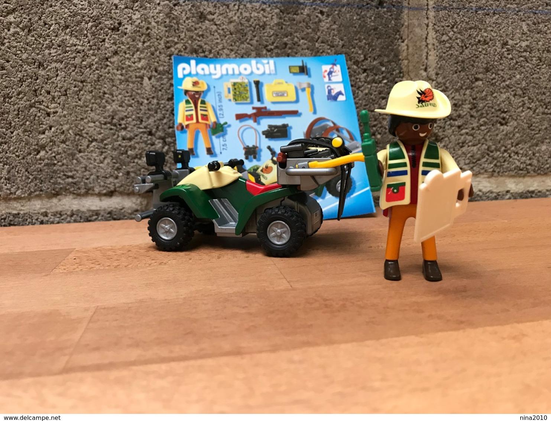 Playmobil N° 4176 - Explorateur En Quad - Altre Collezioni