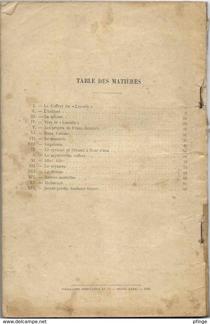 Le Trèsor Dans L'abîme Par Jean De La Hire - Collection Les Romans De La Jeunesse (Boivin) N°13 - Books, Magazines, Comics