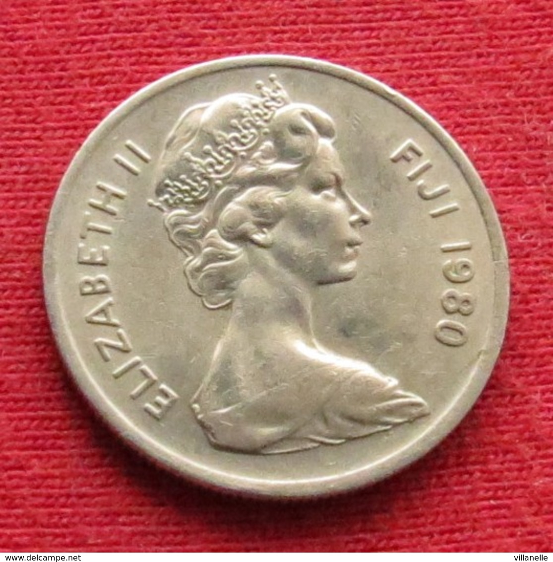 Fiji 5 Cents 1980 KM# 29 *V2 - Fiji